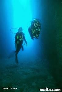 The Inland Sea And Tunnel Dwejra Gozo