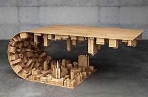 Table De Salon Originale : table de salon originale table basse carr e design trendsetter ~ Preciouscoupons.com Idées de Décoration