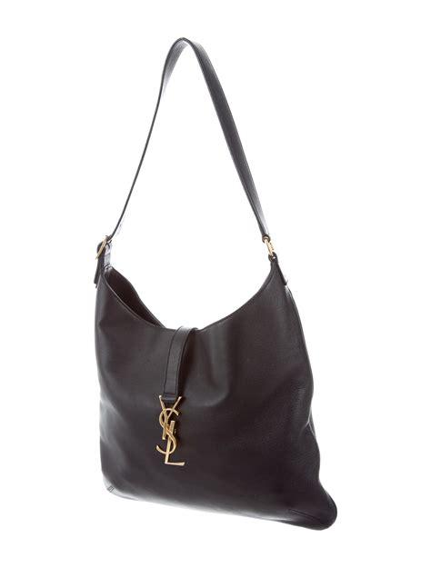 yves saint laurent monogram hobo bag handbags yve