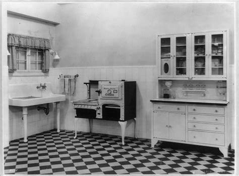cabinet in kitchen quot a model kitchen quot images of vintage kitchens appliances 1918