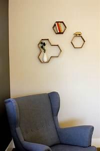DIY Popsicle Stick Hexagon Shelf – Craftbnb