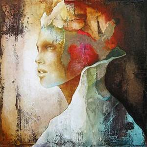 Modern abstract portraits of woman by Pascale Pratte - ego ...
