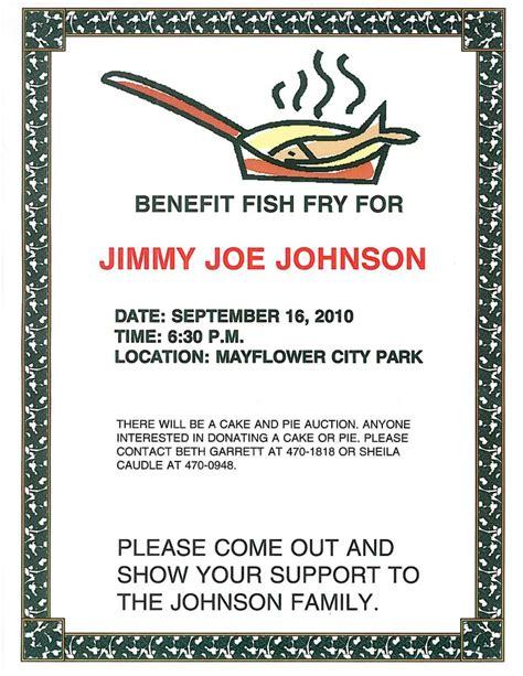 Benefit Fish Fry  City Of Mayflower, Arkansas