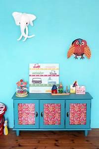 Mobilier Chambre Enfant : objets et mobilier vintages dans une chambre d 39 enfant ~ Teatrodelosmanantiales.com Idées de Décoration