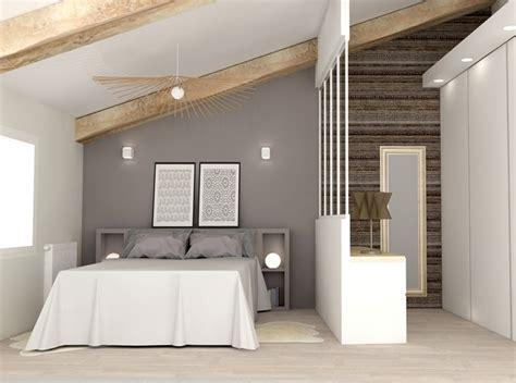plan chambre avec dressing chambre aménagée sous les combles avec dressing http
