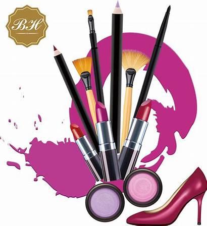 Makeup Clipart Brush Beauty Cosmetics Transparent Lipstic