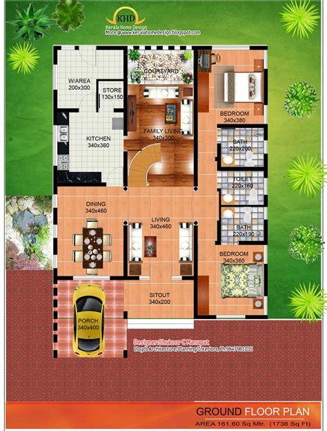 sq ft contemporary  kerala style architecture kerala home design  floor plans