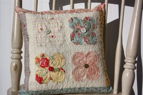 shabby chic pillow covers shabby chic quilted pillow cover dreaming pinterest