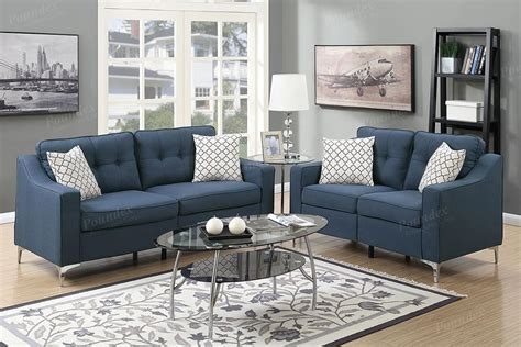 Fabric Sofa And Loveseat Sets by Blue Fabric Sofa And Loveseat Set A Sofa Furniture