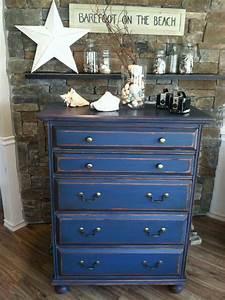 blue, dresser, via, shabby, chic, girl, , shabbychicdressers