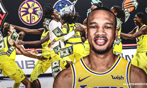 Lakers news: Avery Bradley dishes $30,000 assist to WNBA