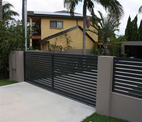 house gates and fences ox works sliding aluminium driveway gates google search fence designs including balustrade