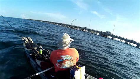 tampa fishing skyway bay bridge kayak grouper