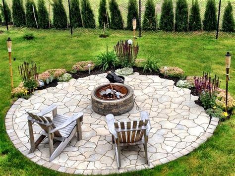 22 Feuerstelle Designs Im Gartenden Patio Bereich