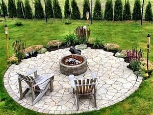 22 feuerstelle designs im garten den patio bereich for Feuerstelle garten mit bonsai schale rund