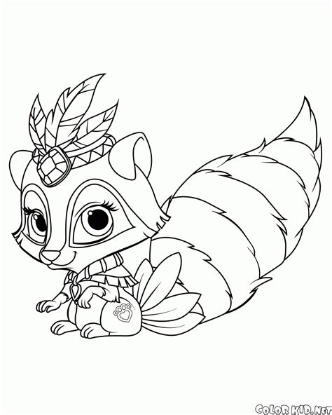 Princess Palace Pets Coloring Pages Coloring Home