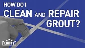 repair tile grout