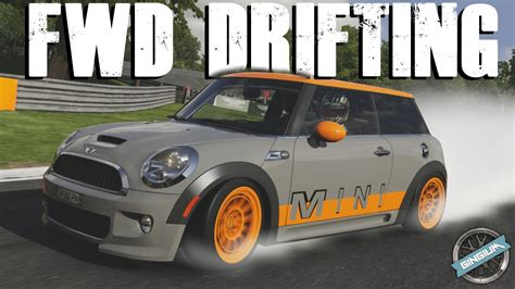How To Drift Fwd by Fwd Drifting 2009 Mini Cooper Works 600hp