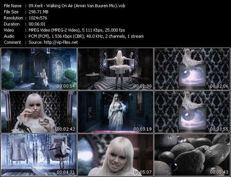 Kerli Videos. Download Kerli Music Video Walking On Air
