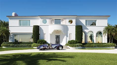An Art Deco Mansion In West Palm Beach  Robb Report