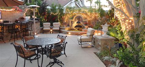 entertainment backyard  patio gemini  landscape