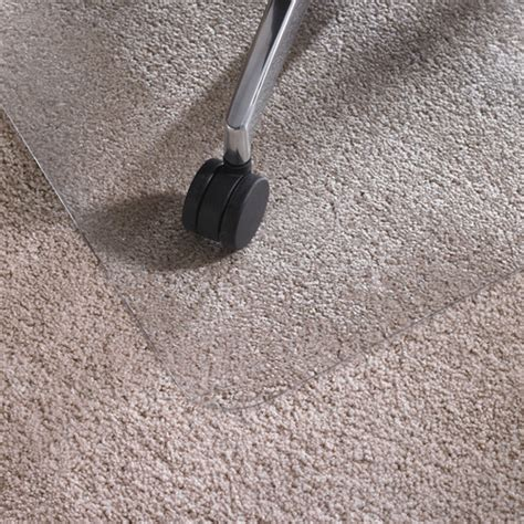 cleartex ultimat high pile carpet chair mat modern