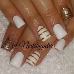 Nail design ideas gold spring nail designs pretty view images elegant and amazing white gold nail art designs prinsesfo Choice Image