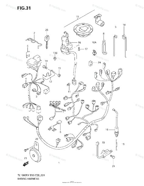 Suzuki Motorcycle Oem Parts Diagram For Wiring