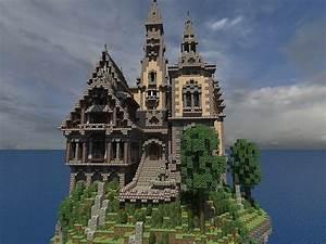 Hustin Manor – Minecraft House Design