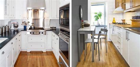 como decorar las cocinas pequenas alargadas