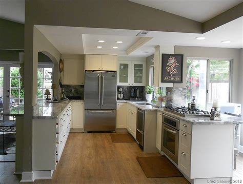 how to open up a galley kitchen for the of ikea 6 kitchens you should see chez sabine 9495