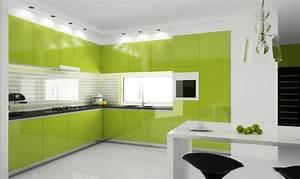 Farbe Für Holzmöbel : 120 ideen f r eine moderne k chenplanung ~ Michelbontemps.com Haus und Dekorationen
