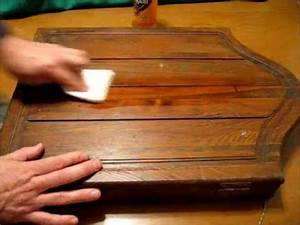 Restore filthy antique wood and furniture fast and simple for Homemade antique furniture cleaner
