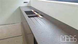 Arbeitsplatte Mit Integriertem Waschbecken : trier amazon silestone arbeitsplatten und waschtisch ~ Michelbontemps.com Haus und Dekorationen