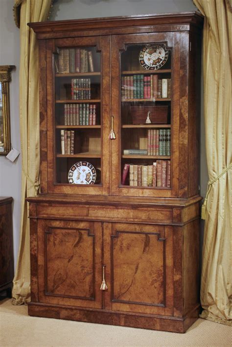 Nineteenth century Pollard oak bookcase, Victorian oak