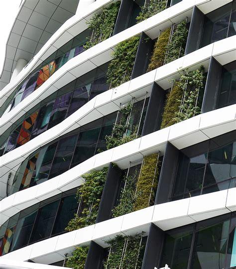 Vertical Garden Facade by Medibank Building Docklands Fytogreen Green Facades