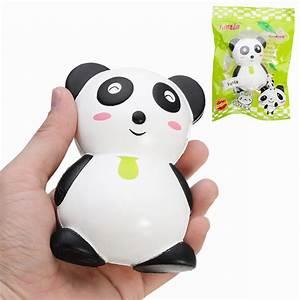 Simela Squishy Panda Doll 11.5cm Soft Slow Rising With ...