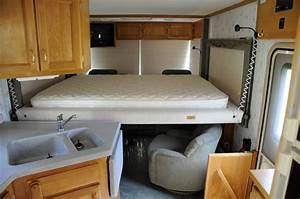 camperinteriorlayout 1999 safari trek rv interior with bed With small camper interior ideas
