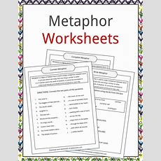 Metaphor Examples, Definition And Worksheets  What Is A Metaphor?