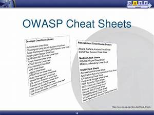 Setting Up A Secure Development Life Cycle With Owasp