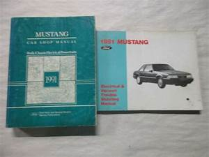 1991 Ford Mustang Service Shop Repair Manual  U0026 Electrical