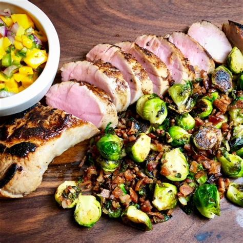 Drain the pork loin, discarding the brine. Cider Brined Pork Tenderloin | Recipe | Pork, Recipes