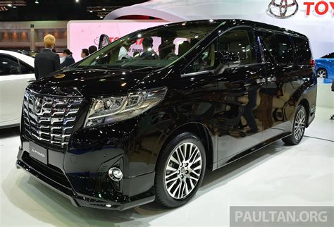 Toyota Alphard Backgrounds by 2015 Toyota Alphard Vellfire Launched In Thailand Live