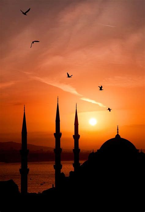 sunset  istanbul turkey turkey turkish pinterest