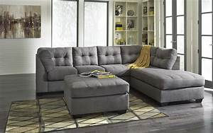 2 piece sectional w sleeper sofa right chaise by for Sectional sofas wolf furniture