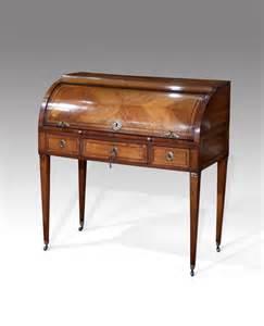 antique french desk cylinder bureau bureau and secretaire