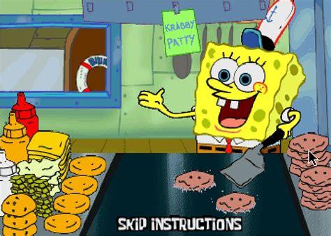 jeu de cuisine de gratuit jeu bob l éponge en cuisine préparer des sandwichs