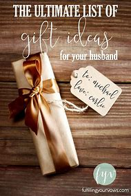 Husband Birthday Gift Ideas