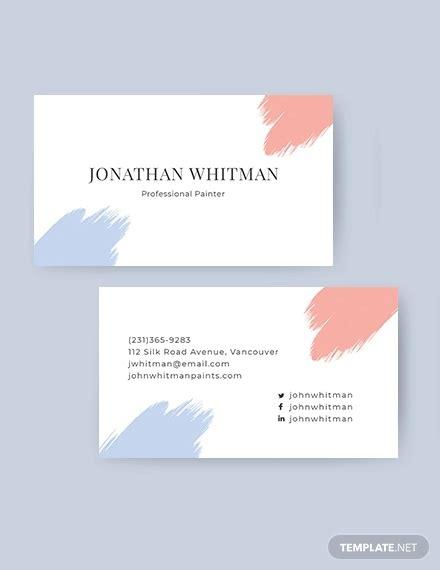 artistic business card templates  word psd apple