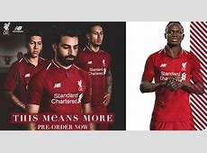 Mo Salah features as Liverpool launch new 201819 home